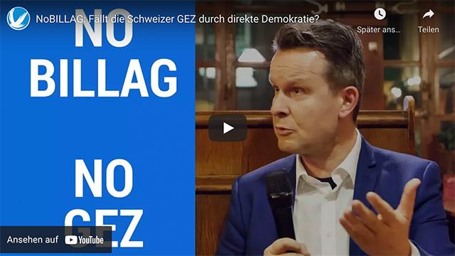 No-Billag: Fällt die Schweizer GEZ durch direkte Demokratie?