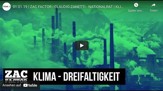 ZAC FACTOR: Klima-Dreifaltigkeit