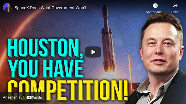 SpaceX Does What Government Won't