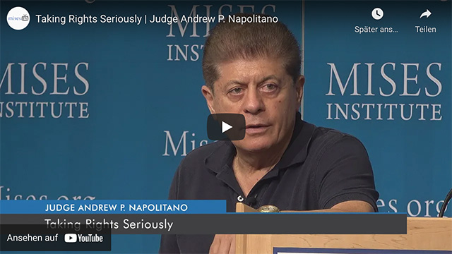 Taking Rights Seriously   Judge Andrew P. Napolitano