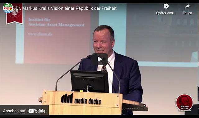 Dr. Markus Kralls Vision einer Republik der Freiheit