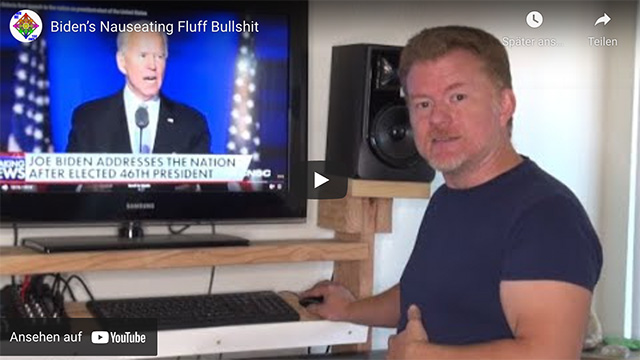 Biden's Nauseating Fluff Bullshit