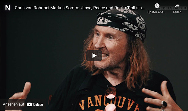 «Love, Peace und Rock 'n' Roll sind für mich die einzig wahre Währung»