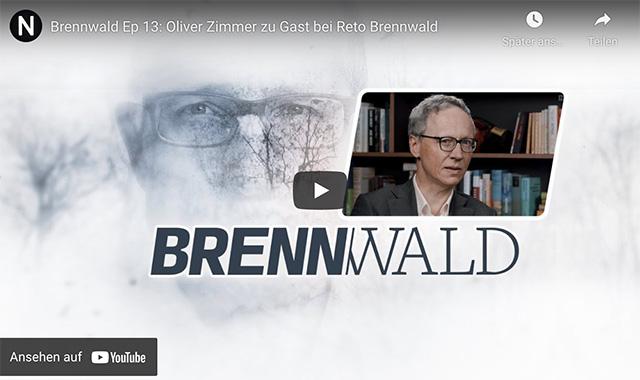 Oliver Zimmer zu Gast bei Reto Brennwald