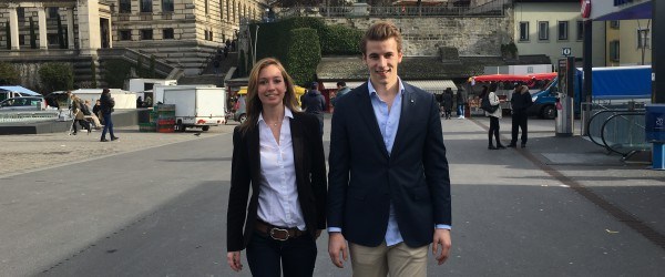 Johanna Gapany und Andri Silberschmidt kandidieren als Co-Präsidenten der Jungfreisinnigen Schweiz