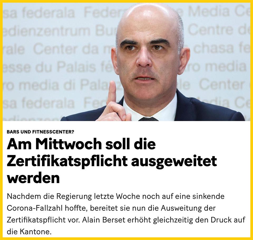 Ab Mittwoch gibt es die Schweiz als Wertegemeinschaft nicht mehr