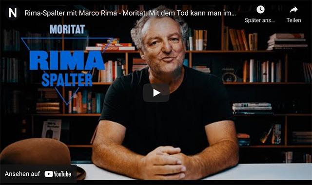 Rima-Spalter mit Marco Rima: Moritat