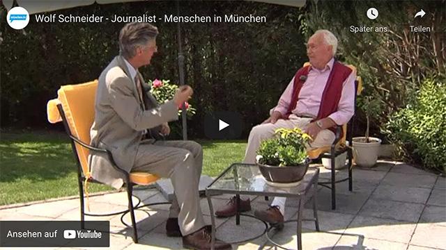 Wolf Schneider – Journalist – Menschen in München