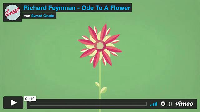 Richard Feynman – Ode To A Flower