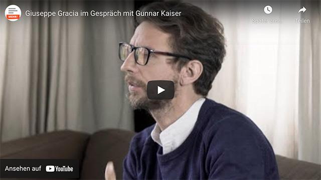 Giuseppe Gracia im Gespräch mit Gunnar Kaiser