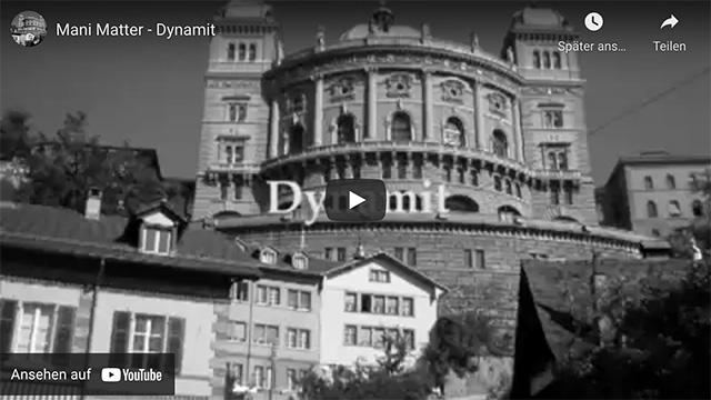 Mani Matter – Dynamit