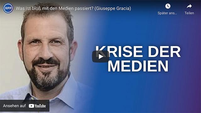 Giuseppe Gracia: Was ist bloss mit den Medien passiert?