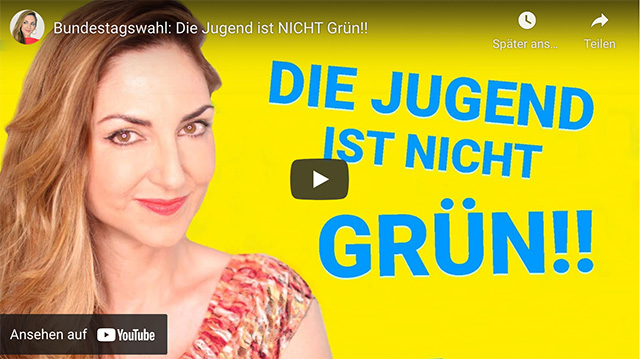 Bundestagswahl: Die Jugend ist NICHT Grün!