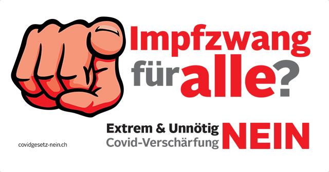 Start der Vorkampagne zur Covid-Abstimmung am 28. November