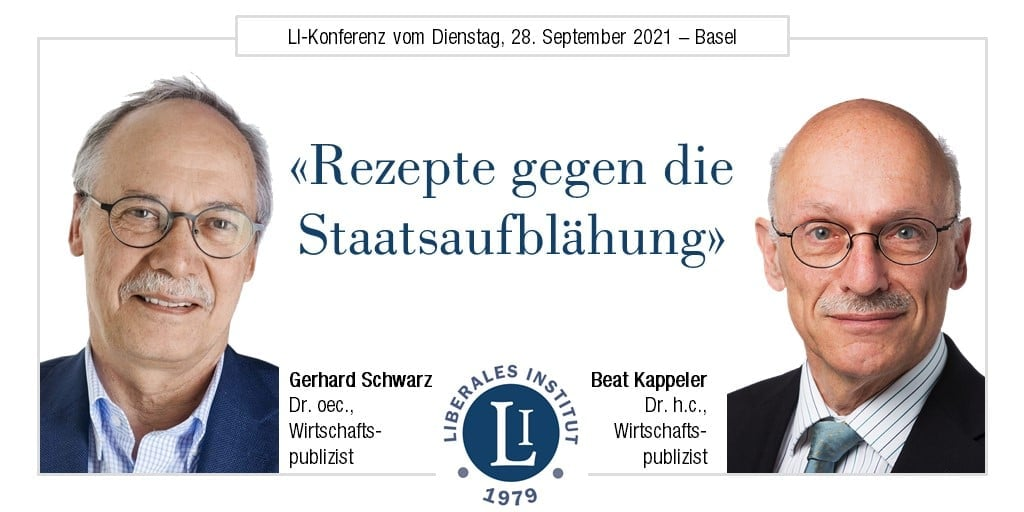 LI-Konferenz «Rezepte gegen die Staatsaufblähung»