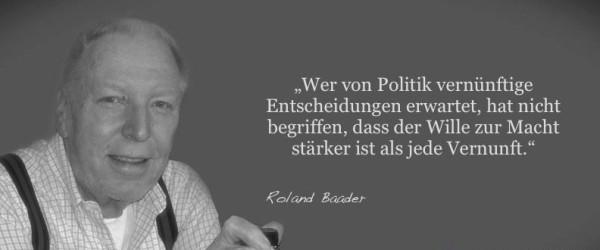 25 Zitate von Roland Baader, die dir das Blut in den Adern gefrieren lassen (Teil 2)